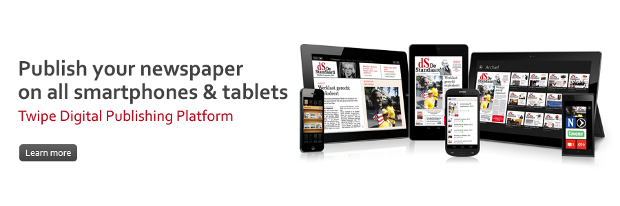 Publish your newspaper on all smartphones & tablets