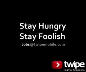 Jobs @ twipemobile.com