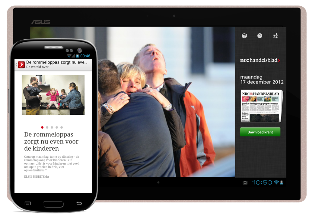 NRC Handelsblad & NRC Next on Android Tablets & Smartphones