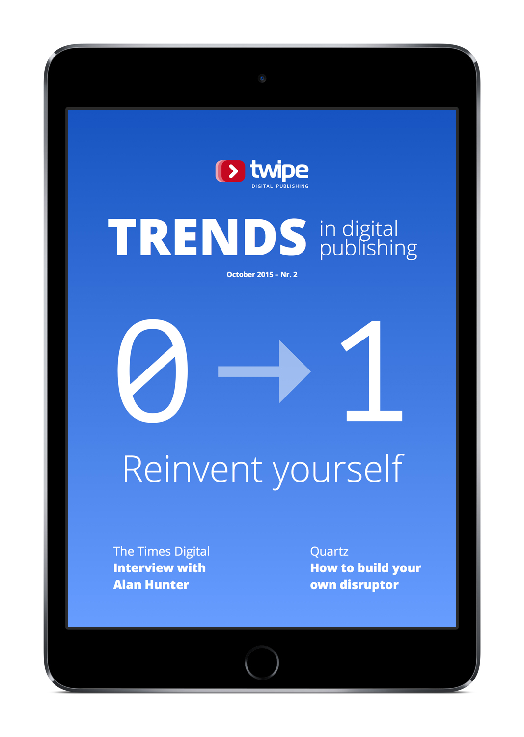 Trends in Digital Publishing - Second edition - reinvent yourself