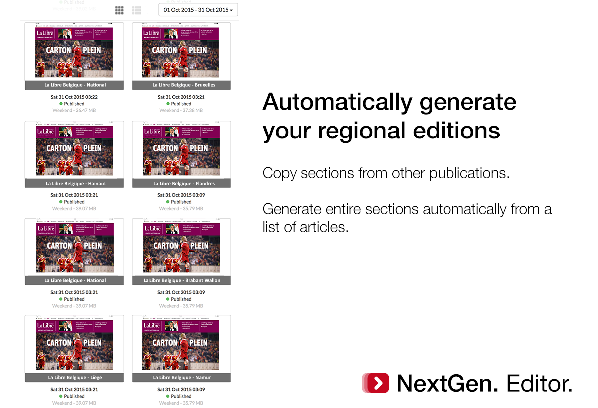 Twipe launches nextgen editor for Nextgen template editor