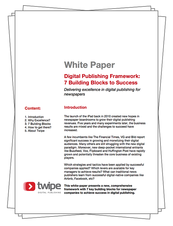 White Paper: 7 Building Blocks for Digital Publishing Success