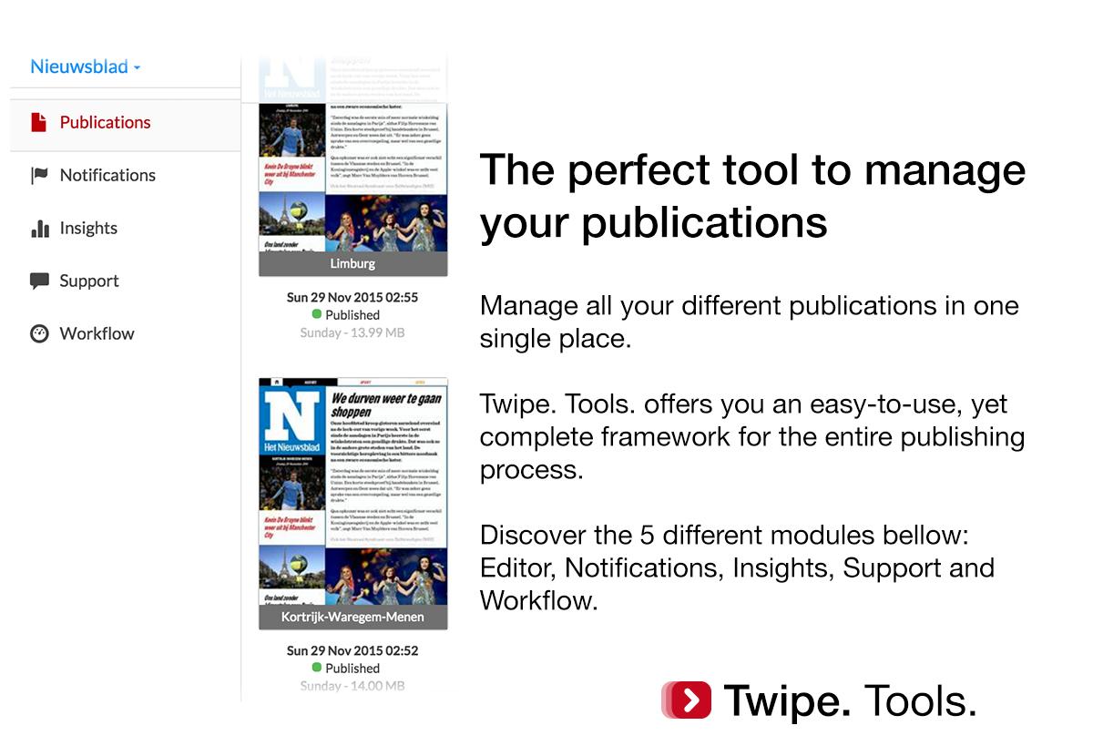 1.Twipe. Tools