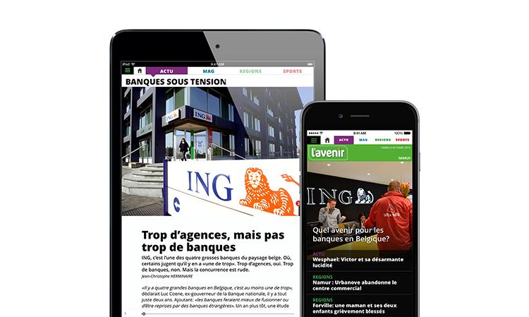 L'avenir launches NextGen app
