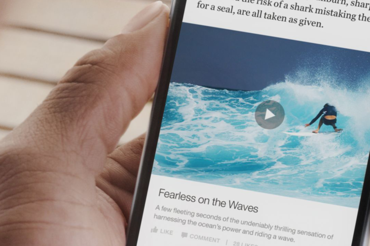 Is Facebook launching a Spotify for News?