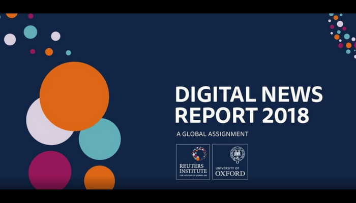 5 graphs you need to see from Reuters Digital News Report 2018