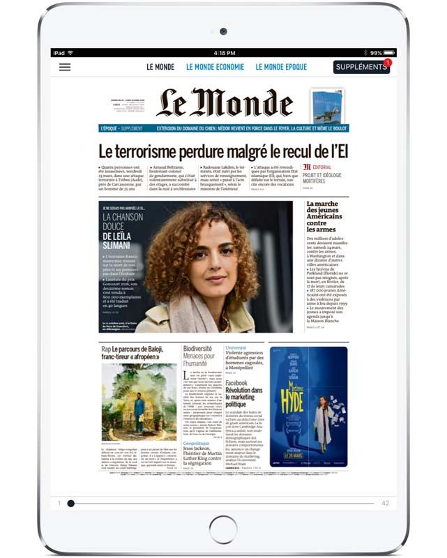 Le Monde_Replica Epaper