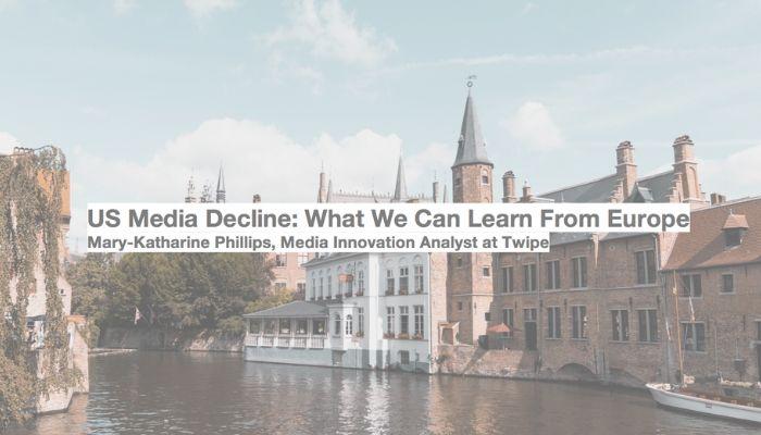 Niedergang des US-Zeitungsmarkts: Was wir jetzt von Europa lernen können