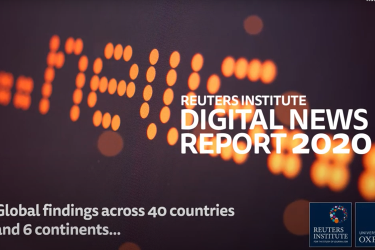 5 graphs that will impact your digital strategy – Reuters Digital News Report 2020