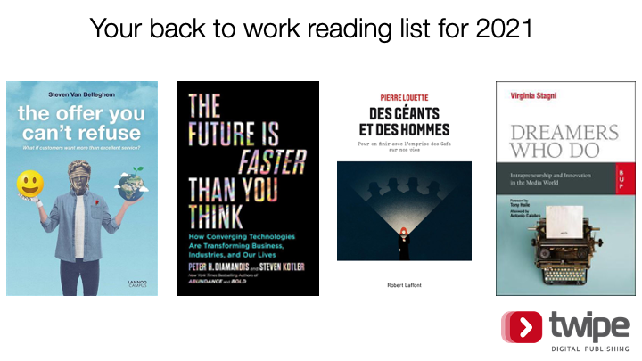 Your back to work reading list for 2021